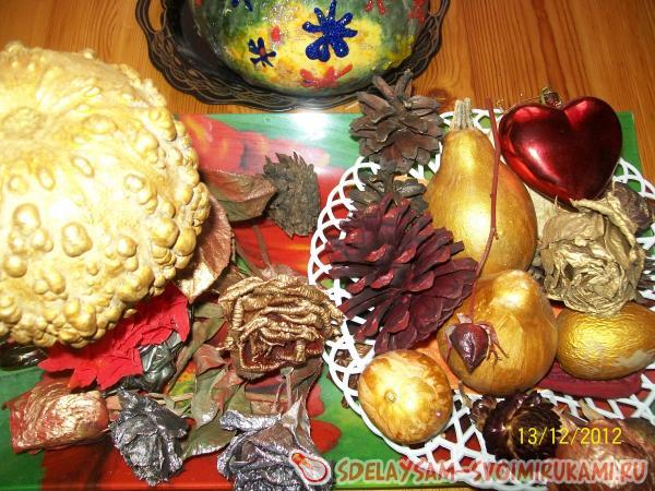 Small Dried Decorative Pumpkins