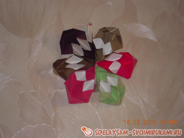 Snowflake-torch and star - Christmas decorations