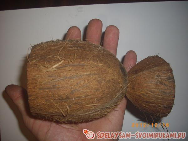 Фото поделки из кокоса 110