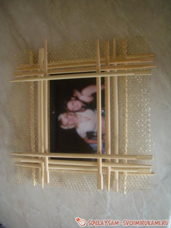Photo Frame of Chinese Sticks