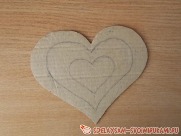 Аппликация «Любвеобильное сердце»