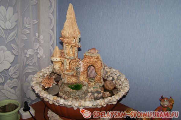 Настольный декоративный фонтанчик