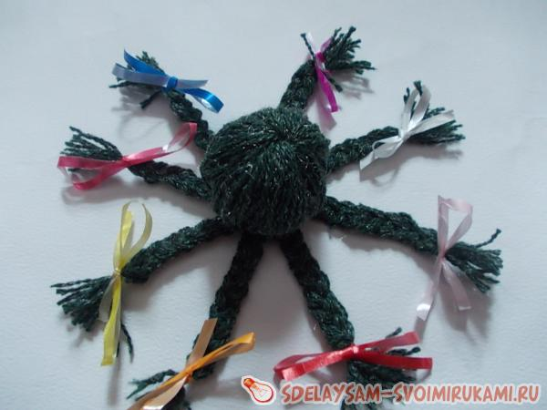 Octopus of Threads for Knitting