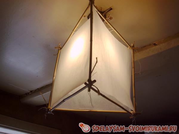 Light hanging lamp shade