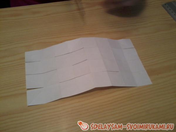 Cube - paper transformer