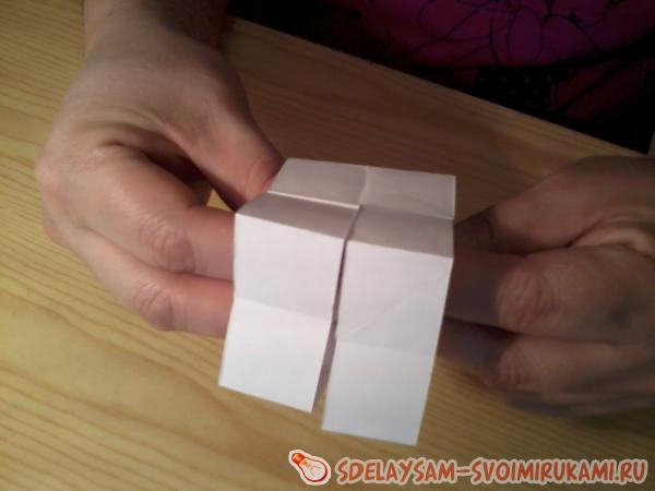 The cube is a paper transformer