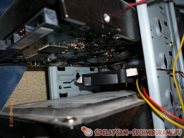 Adjustable computer cooling system