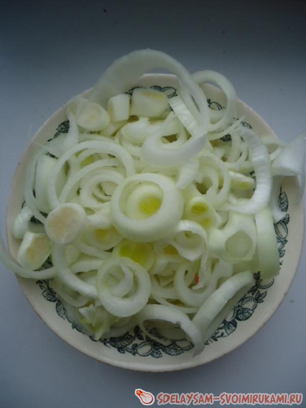 Слоеная картошка