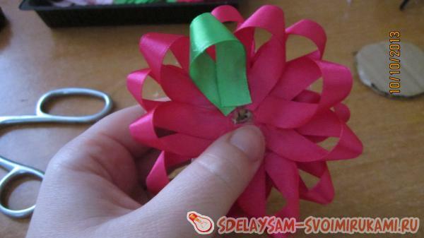 the flower is more voluminous