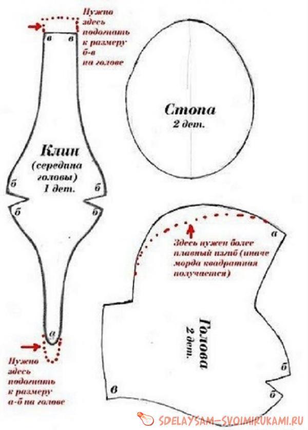 foot wedge head