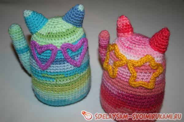 Веселые стильные коты