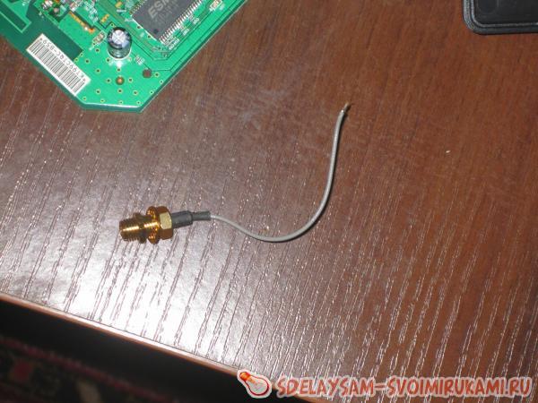 разъем подключения антенны
