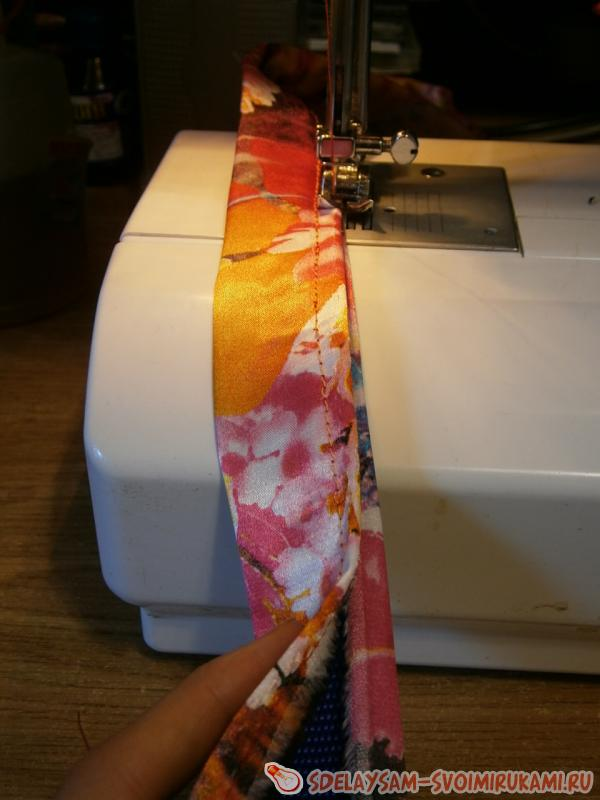 stitched edge