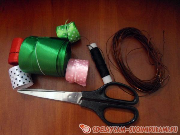 материалы для рождественского венка