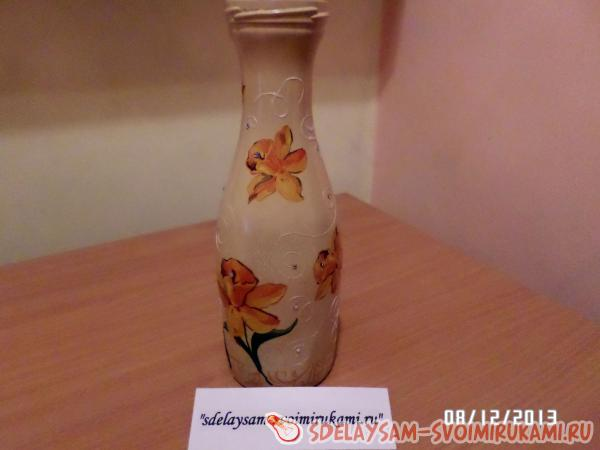A vase for flowers