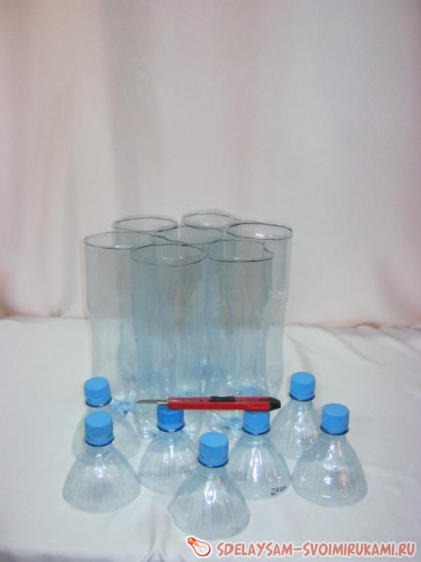 Разрезанные бутылки