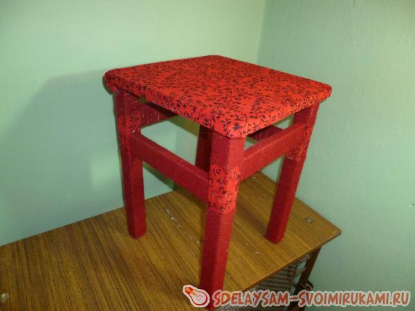 an elegant stool will attract attention