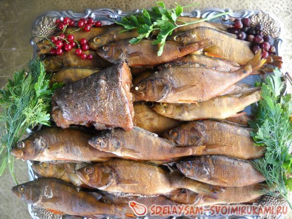 способ сервировки рыбы