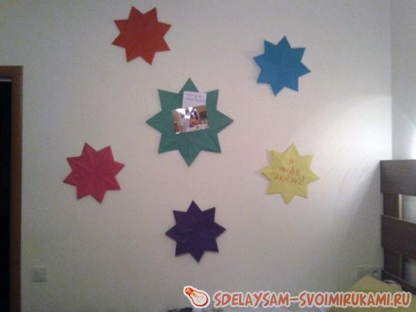 Wall decoration in an easy and affordable way