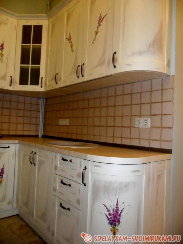 Роспись кухонных фасадов