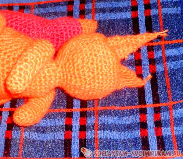 Little Squirrel Knitted Toy