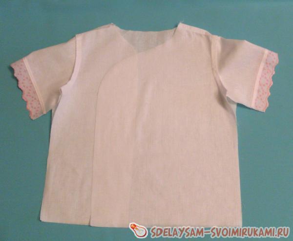 Шьем крестильную рубашку