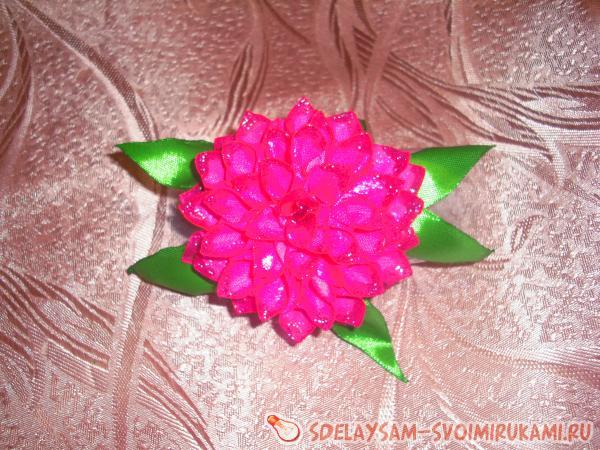 Резинка для волос «Хризантема махровая»
