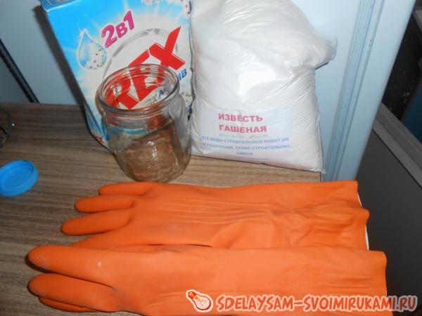 Как избавиться от грибка на плитке
