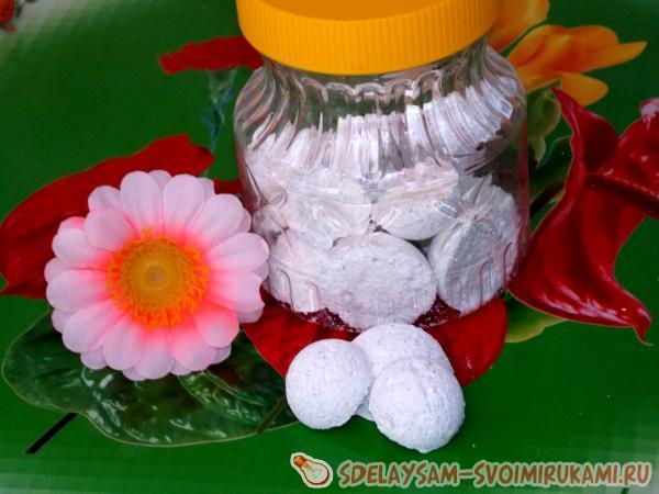 Моющие средства для дома своими руками