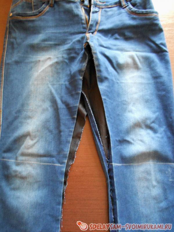Обрезаем штанины