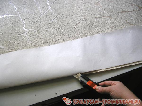 we cut wallpaper