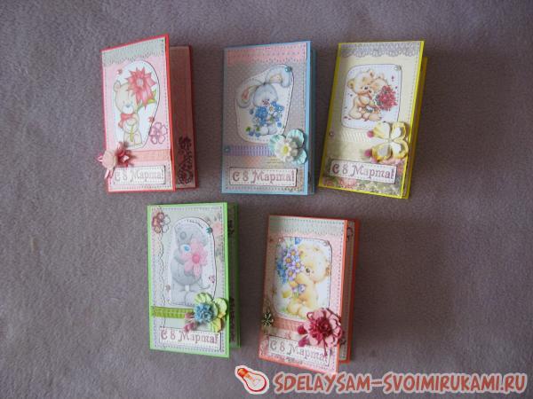Small postcards