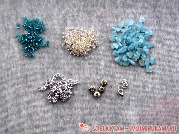 Легкий и элегантный браслет из кристаллов и бисера - YouTube