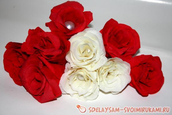 получилось 6 красных роз