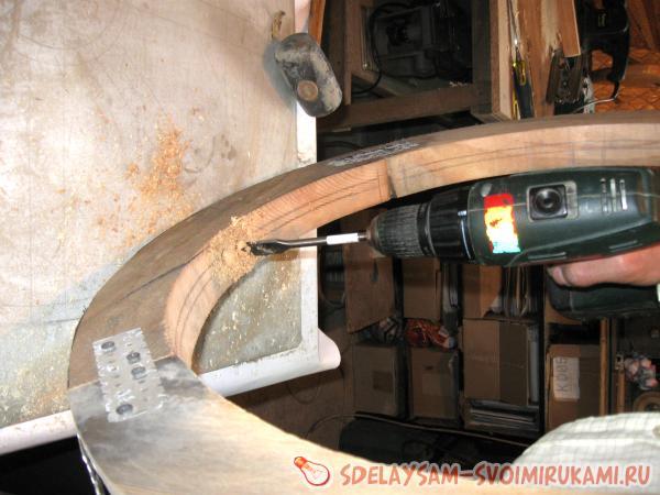 Изготовление деревянного колеса