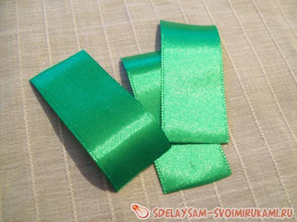 берем зеленую ленту