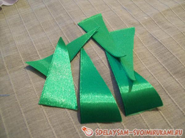 cut diagonally
