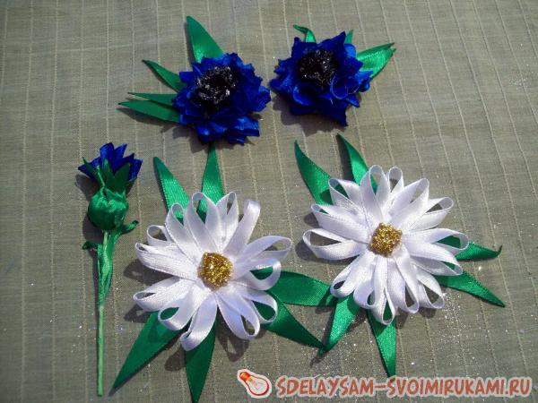 зажима для волос Полевые цветы