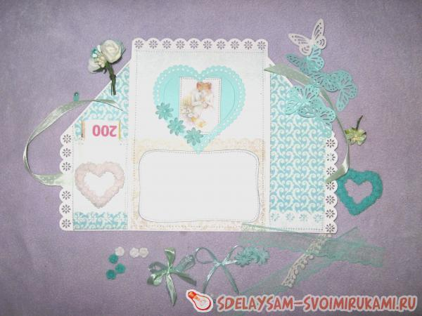 Folding Card With Wedding Day