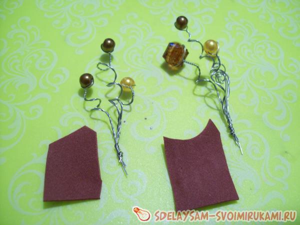 foamiran hair clips