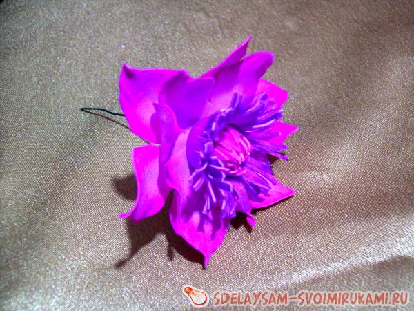 украшению бокалов цветами гортензии