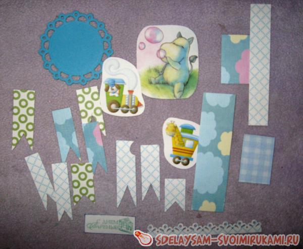 Child's folding card