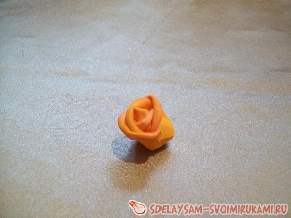 собираем розу
