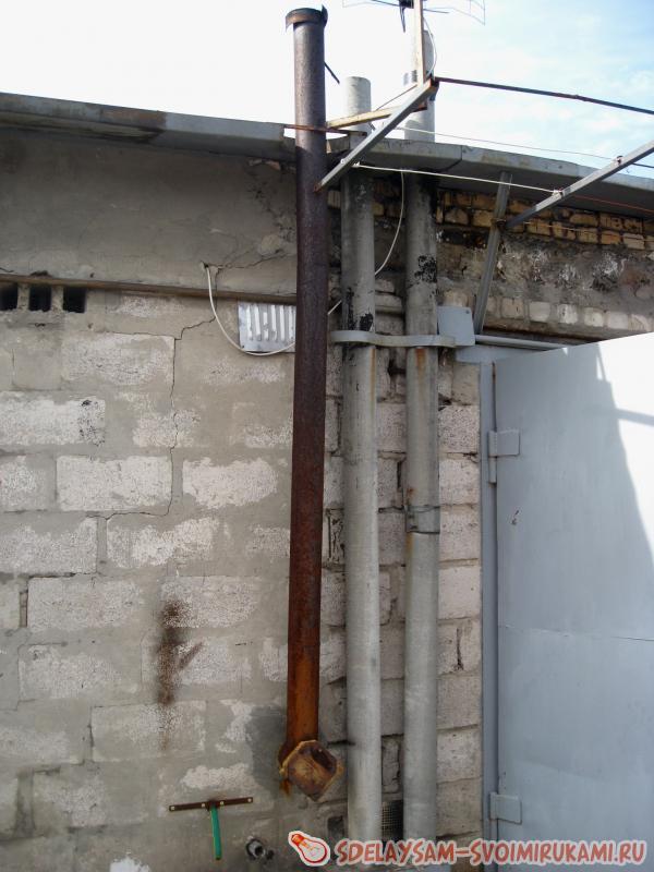 система отопления гаража с подвалом