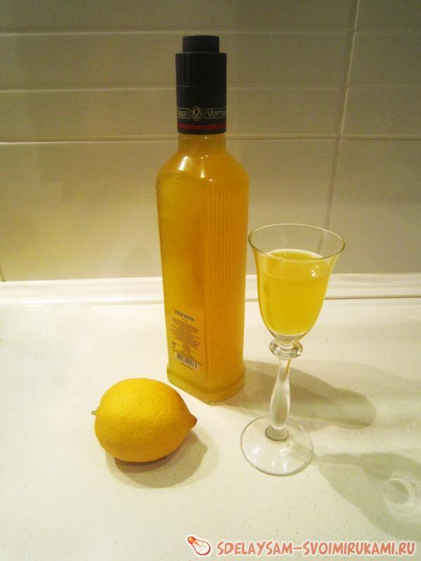 Ликер из апельсиновых корочек