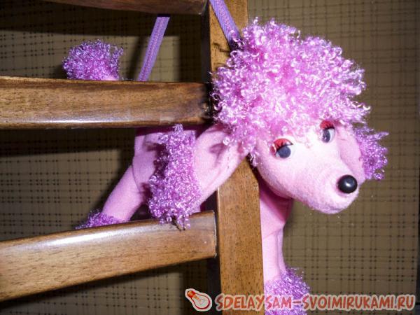 Bag toy dog