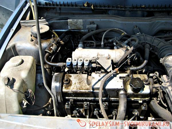 Новый способ мойки двигателя своими силами!