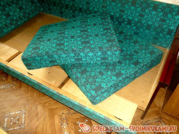 Освобождаем диван от подушек