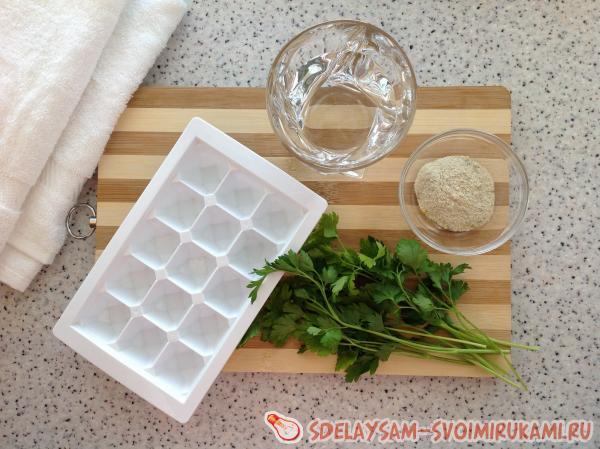 Заготовка для супа и бульона