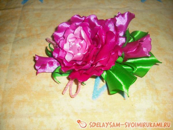 Мастер класс цветы из ватных палочек